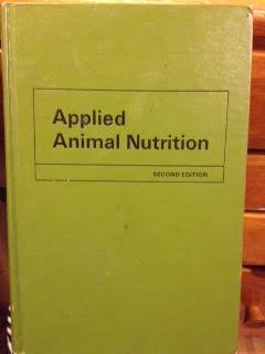Hardcover Applied Animal Nutrition Book