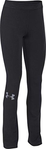 Under Armour Damen Fitness Hose und Shorts UA Rival Pants, Blk/STL, S, 1265418