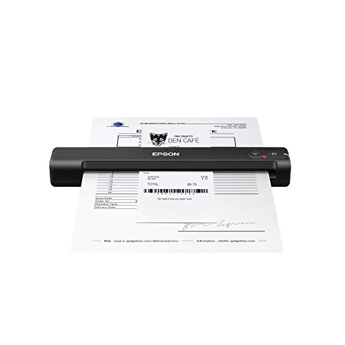Epson Workforce ES-55R Mobile Receipt and Document...