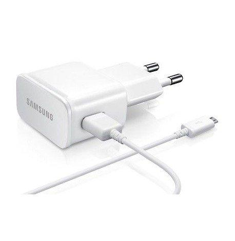 Samsung - Cargador original Samsung (2A, ETA-U90EWE) compatible con Samsung GT-i9506 Galaxy S4 Advance, de color blanco