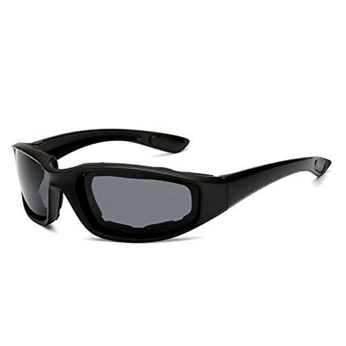langchao Gafas de equitación al aire libre Esponja Gafas de esquí Gafas de sol tácticas a prueba de viento Hombres y mujeres Gafas de sol deportivas