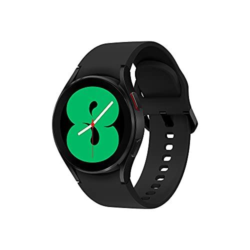 Samsung Galaxy Watch4 40mm Orologio Smartwatch, Monitoraggio Salute, Fitness Tracker, Batteria lunga durata, Bluetooth, Black, 2021 [Versione Italiana]