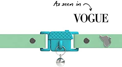 Piccola anellino Gratis PanPet Medaglietta per Cani e Gatti a Forma di Piastrina Alluminio anodizzato con Incisione Personalizzata Gratuita su Entrambi i Lati S , Argento Lucido