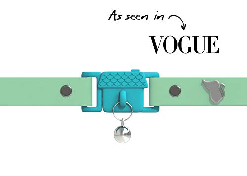 Kittyrama Visto en Vogue. Collar para Gato Meadow Galardonado Cat Friendly