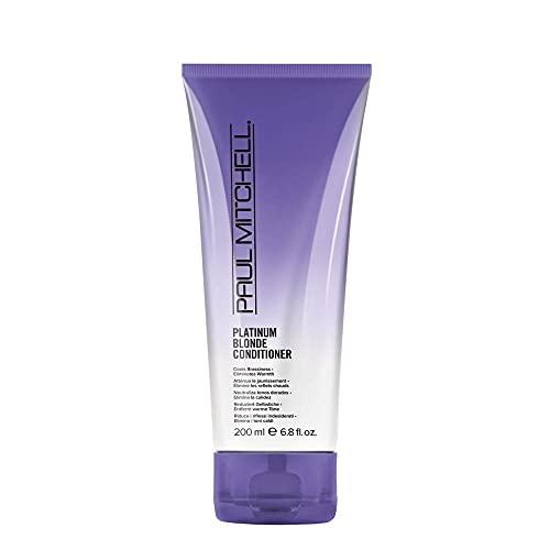 Paul Mitchell Platinum Blonde Conditioner - Pflegespülung für strahlend blondes, graues oder weißes Haar, Pflegespülung gegen Gelbstich, 200 ml