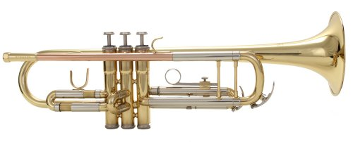 Shoenbach STR-300 B-Flat Trumpet, Clear Lacquer on Yellow Brass