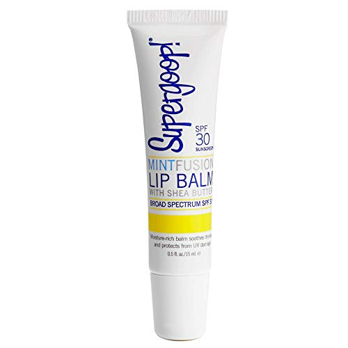 Supergoop! Fusion Lip Balm Mint SPF 30, 0.5 Fl Oz