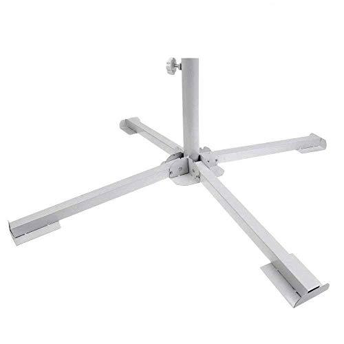 EFAILY Adjustable Portable Foldable Beach Anchor Outdoor Sunshade Stand Patio Umbrella Base Holder