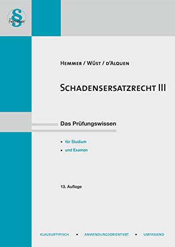 Schadensersatzrecht III