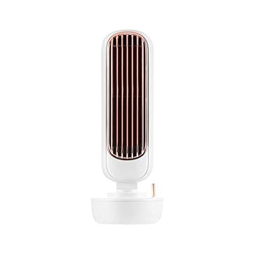 Mini ventola di raffreddamento aria del condizionatore d'aria, piccola ventola di raffreddamento acqua multifunzione 'aria condizionata, umidificatore, ventola di raffreddamento ( Color : White-a )