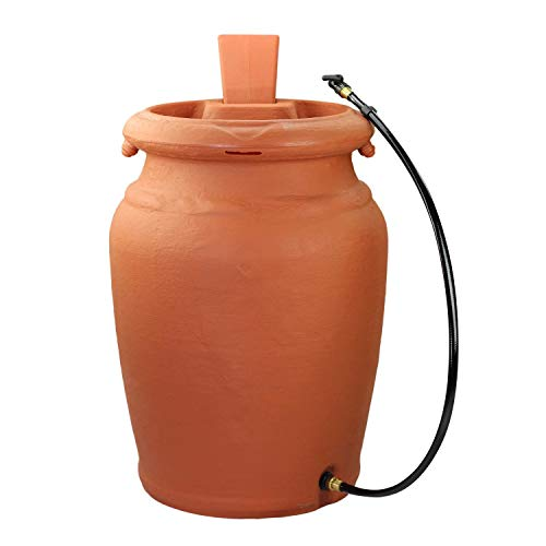 US4000-TC Planter Urn-Style Rain Barrel