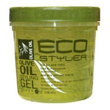 Eco Styler - Olive Oil Styling Gel - Gel pour cheveux, 235 ml (instructions en anglais)