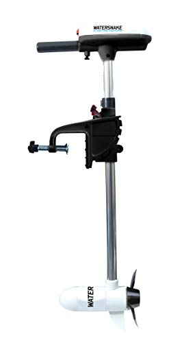 Watersnake ASP Salt Water Transom Mount Trolling Motor with 24-Pound Thrust, 24-Inch Shaft, 12-Volt