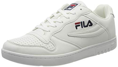 Fila FX100 Low Herren Männer,Sneaker-Low,Schnürschuh,Sportschuh,Schnürschuh,White,47 EU