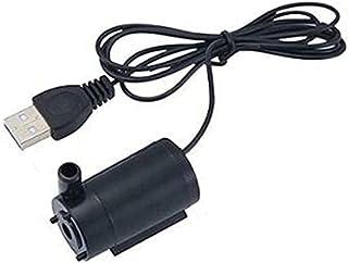 Pump Accessories 3V 5V 6V Mi ni Submersible Water Pump Silent Aquarium Fish Tank Accessories with USB Connector Portable (...