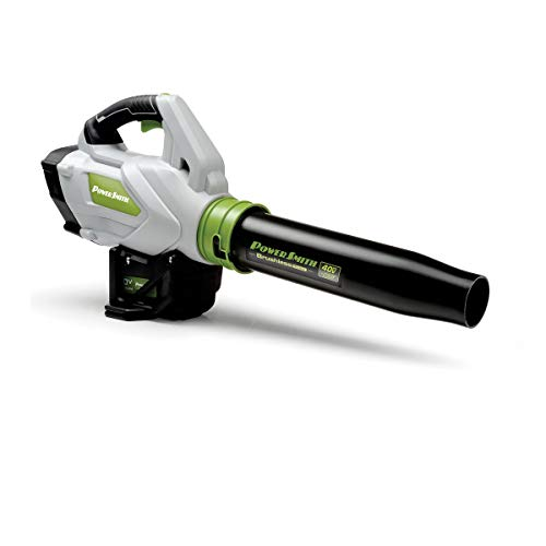 POWERSMITH Battery Powered Brushless Motor Leaf Blower w/ 40V Battery, Charger