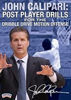 John Calipari: Post Player Drills for the Dribble Drive Motion Offense (DVD) by John Calipari