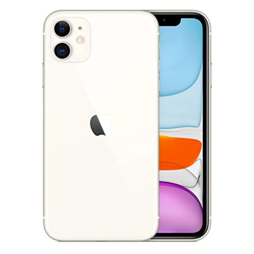 (Refurbished) Apple iPhone 11, 64GB, White - Fully Unlocked