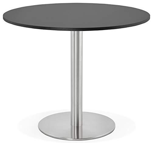 Générique Table à Diner Design Godet Black 90x90x75 cm