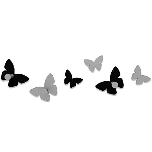 CalleaDesign - Appendiabiti Milioni Di Farfalle, Nero