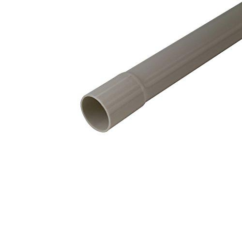 Sonstige 407051 Isolierrohr starr EN 20 Klassifizierung2221 grau 2m, hellgrau