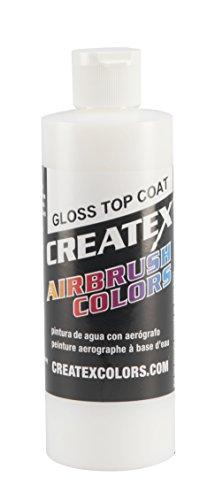 Createx Colors Gloss Top Coat for Airbrush, 8 oz