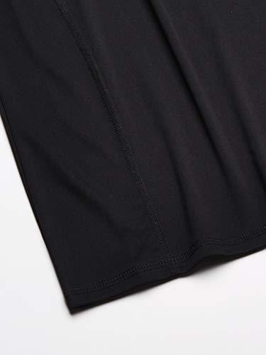 Amazon Essentials Women's Short-Sleeve Quick-Dry UPF50 Swim Tee, Black, XX-Large