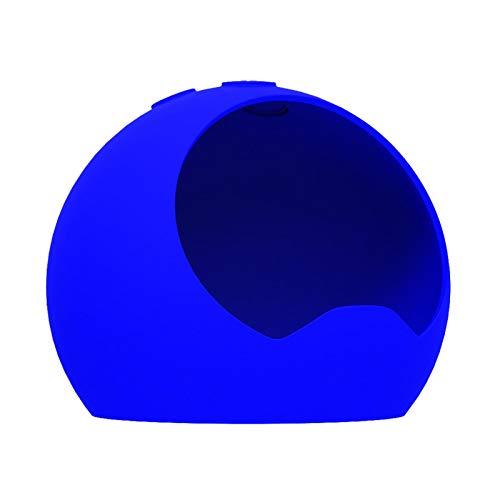 Xinchangda Cubierta Protectora De Silicona De Cuarta Generación Echo Dot Cubierta De Silicona De Resina De Altavoz Suave Y Duradera Cubierta A Prueba De Polvo Y A Prueba De Caídas
