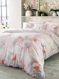 Ted Baker Cotton Candy Super King Size Pink Floral Quilt Cover