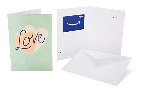 Amazon.com Gift Card in a Greeting Card (Love Hearts Design)