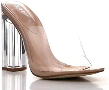 Clear high heel boots _image0