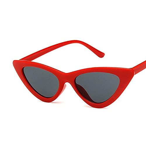 Sunglasses Gafas de Sol de Moda Gafas De Sol Triangulares De Ojo De Gato A La Moda Gafas De Sol De Ojo De Gato Atractiva