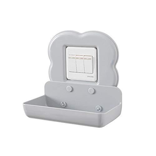 zyh1229 Plakken type grote mobiele telefoon laadbeugel wandplank schakelaar stickers keuken badkamer opslag rack