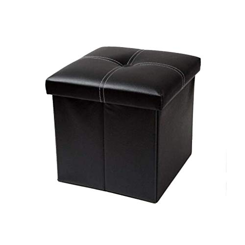 WJXBoos Folding Cube Storage Pouch, 4 Colors Optional 12 x 12 x 12 inches (Color: Black # 1)