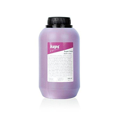 Verf Voor Natuurlijk en Synthetisch Leer en Textiel, Kaps Super Color, 82 Standaard- en Metallic Kleuren, Grote Fles 500 ml - 16,9 fl. Oz.