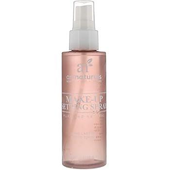 artnaturals Makeup Setting Spray - Long Lasting Face Oil Control - Matte Finish Mist - Organic Made w/ Aloe Vera - Hydrating & Anti Aging for Skin Care Routine  4 Fl Oz / 120ml
