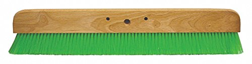 Concrete Finishing Broom,36 in. L,Wood