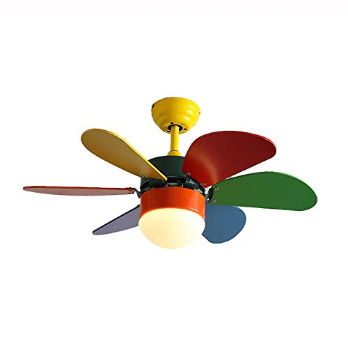 BAIDEFENG Moderner Deckenventilator Mit Led Bowl Light 5-Blatt-Ventilator Mit Niedrigem Profil Für Unterputz-Kronleuchter Für Kinderzimmer