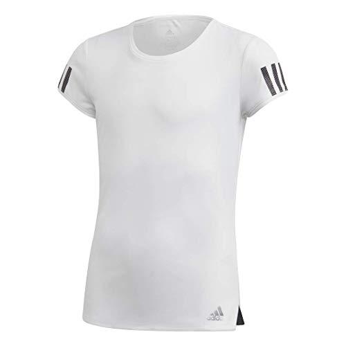 adidas Club - Camiseta - FUC77, Camiseta Club, Large, Blanco/Plateado Mate/Negro