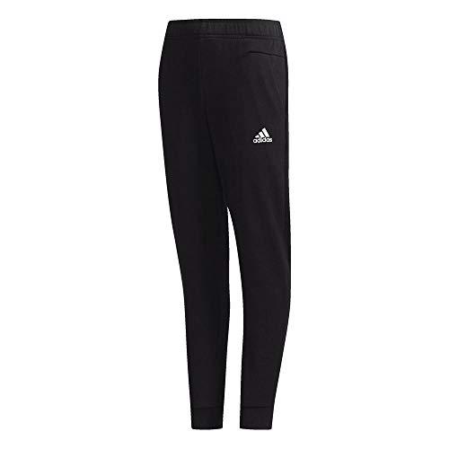 adidas YB ID STA Pantalones, Niños, Black/White, 7-8A