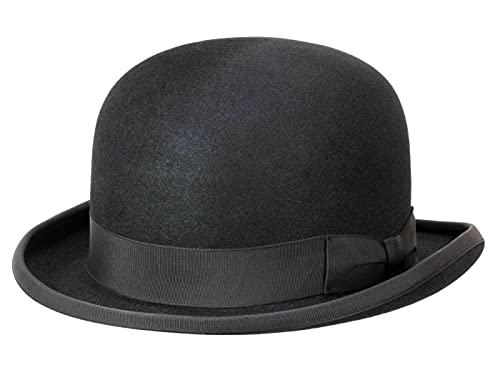 Guerra Homme Chapeau Melon Bowler noir