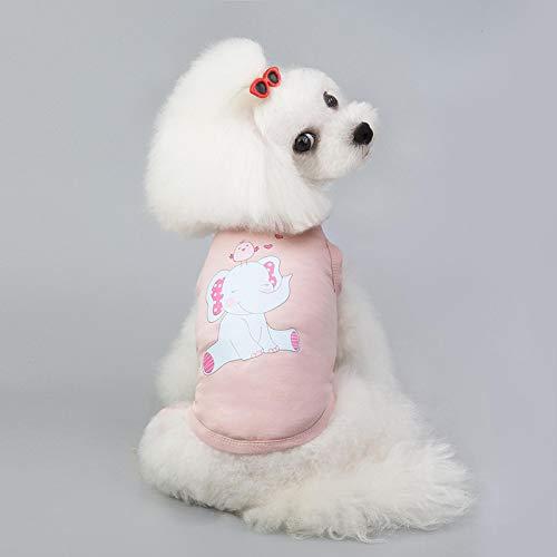 Hundekleidung Haustier Jacke Hundeweste Shirt Cartoon Hundekleidung Für Kleine Mittelgroße Hunde Chihuahua Haustier Shirt Coole Welpen Haustier Weste Kleidung Für Hunde XXL Pi