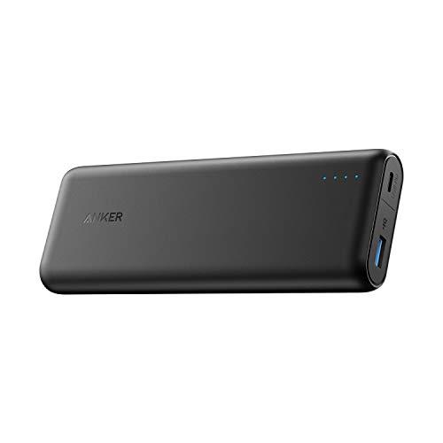 Anker PowerCore Batterie Externe Li-ION Noir 20100 mAh – Batterie Externe (Noir, Console de Jeux Portable, Nintendo Switch, Li-ION 20100 mAh, USB)