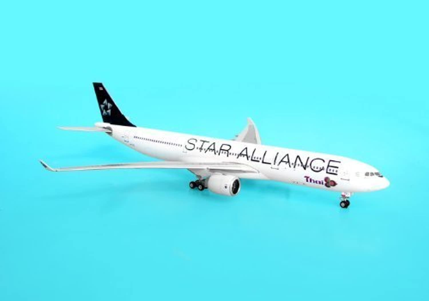 Phoenix Diecast 1-400 PH610 Thai A330-300 1-400 REG HS-TEL Star Alliance Old by Phoenix Diecast
