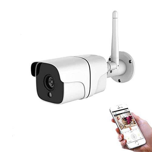 Cámara de Vigilancia y Seguridad WiFi Exterior Inalámbrica IP67 con grabación en Tarjeta de Memoria, Detección de Movimiento, Visión Nocturna, Micrófono y Altavoz – Smartfy