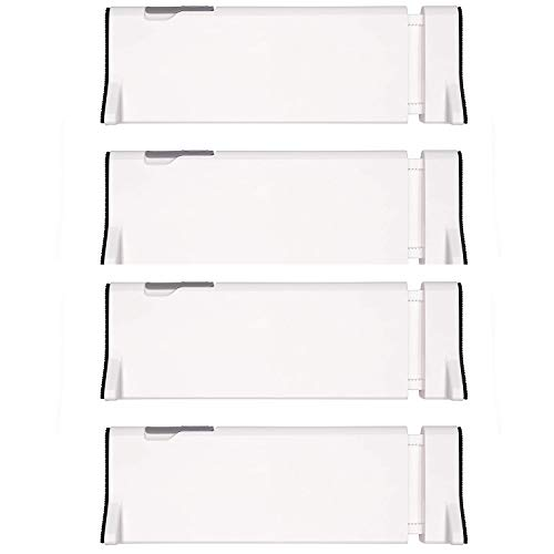 OXO Tot Expandable Drawer Dividers, 4-Pack Drawer Organizers