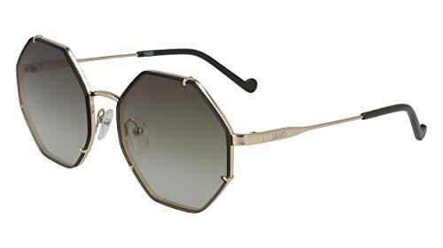 Liu Jo gafas de sol LJ122S 41756 717 oro gris tamaño de 56 mm de las mujeres