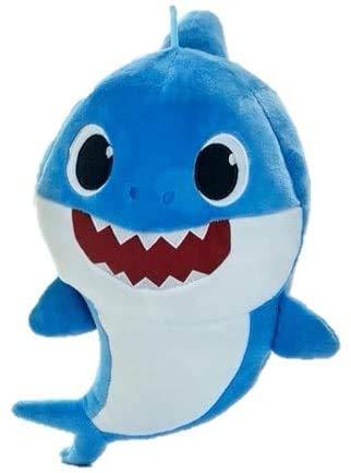 ENVI Pink Fong Baby Shark Plush Soft Toy 25cm (Blue)