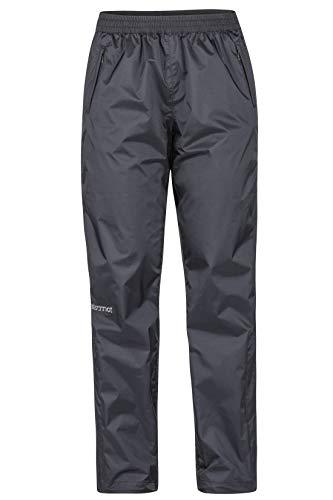 Marmot Damen Hardshell Regenhose, Winddicht, Wasserdicht, Atmungsaktiv Wm's PreCip Pant, Black, M, 46730