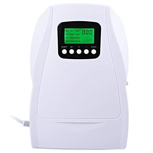 Clock Purificador De Aire Portable Multipropósito Ozono Generador Frutas Vegetal Esterilización Ozonizador